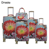 China fashion wheel luggage manufacture custom trolley luggage hot selling high quality spinner travel luggage bag set