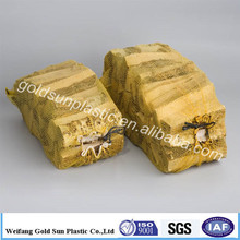 plastic bags for wood pellets vegetable mesh pp mesh bags for firewood