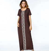 X84172A Latest design fashion long maxi dresses for women summer clothing