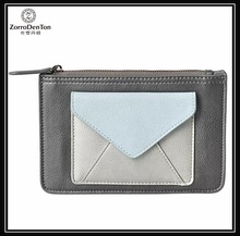 cool leather Pouch with Envelope pocket