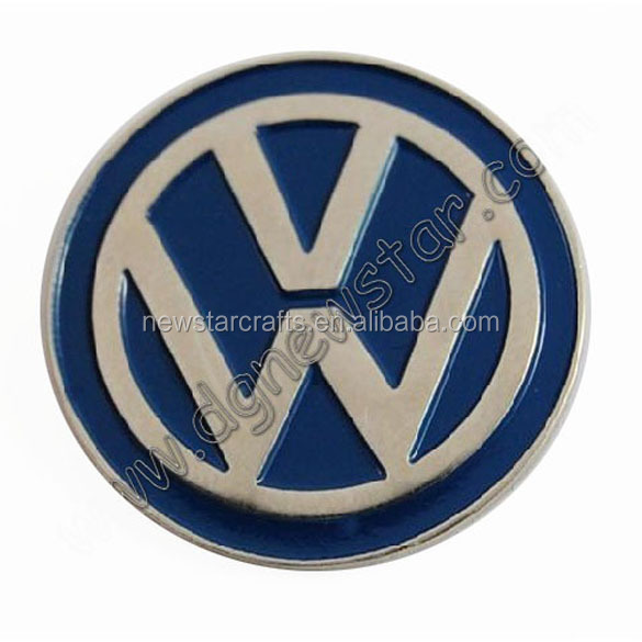 Die casting vw car badge emblems