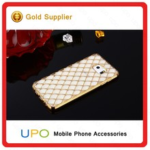 [UPO] TPU Honeycomb Plating Case For Samsung Note 5 Electroplate Phone Case