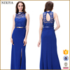 Ladies Fashion Patterns of Long Lace Evening Dress