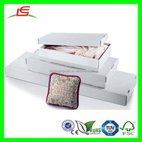 D216 Shenzhen Wholesale Foldable White Corrugated Paper Cheap Quilt Storage Box