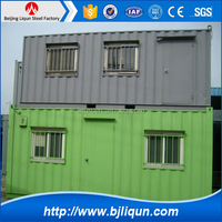 super march purchasing steel prefabricated houses 40ft container house container prefab