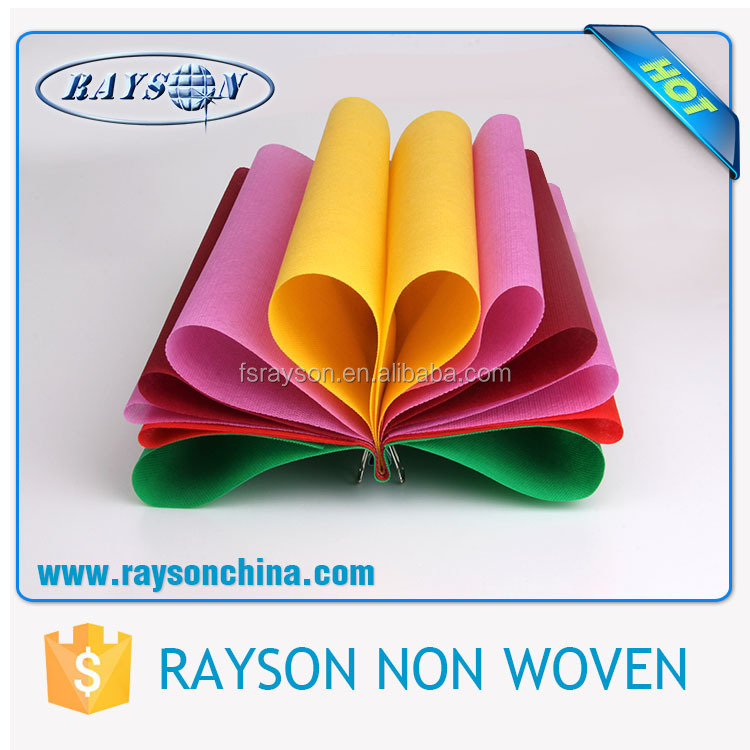 Foshan rayon needle punched biodegradable nonwoven fabrics