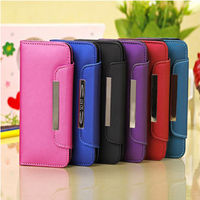 HOT DESIGN MATTING HAND SCRAP SMART LEATHER CASE FOR IPHONE 5 5G