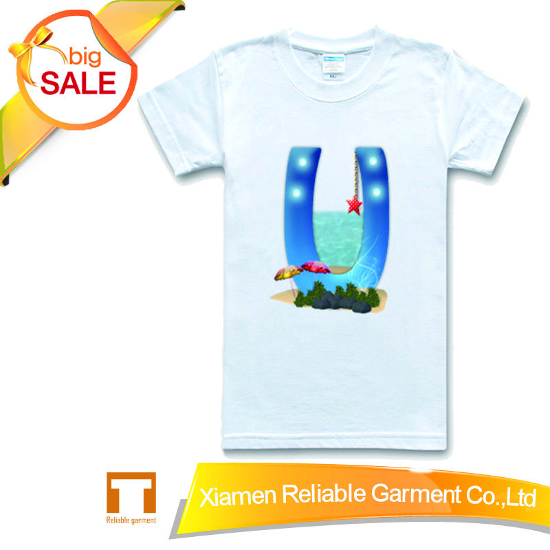 100% cotton couple t shirts/ lovers blank t-shirt for heat press cotton&polyes