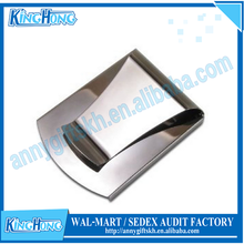 Stainless steel business card holder golf money clip