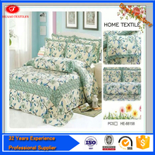Brand new super king size bedding sets woven manufacter