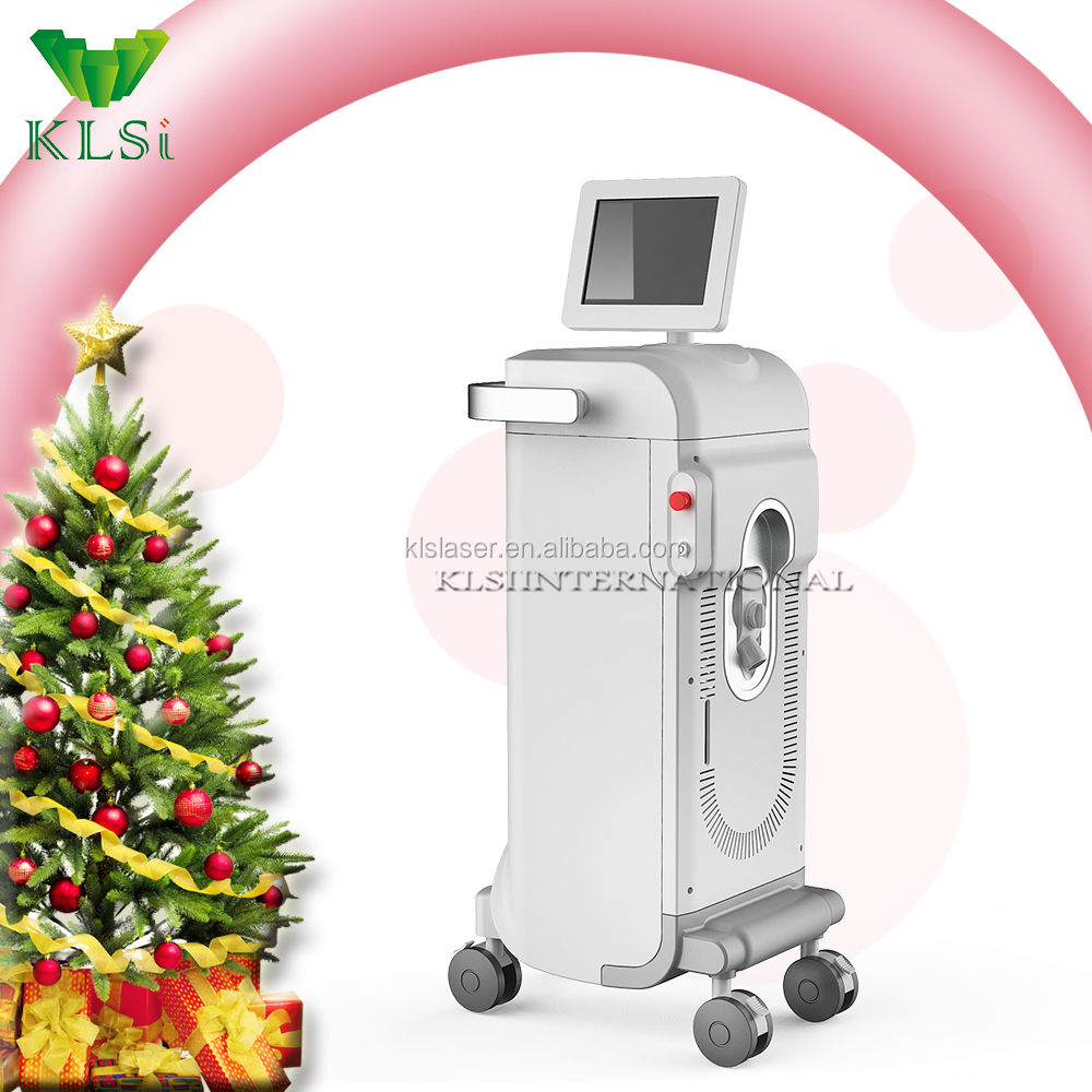 Beauty salon clinic use hair removal machine/laser diode alma soprano/hair removal medical device
