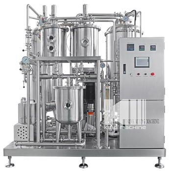 Carbon dioxide drink mixer