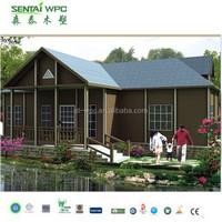 15 years warranty Waterproof and UV resist WPC portable modular homes