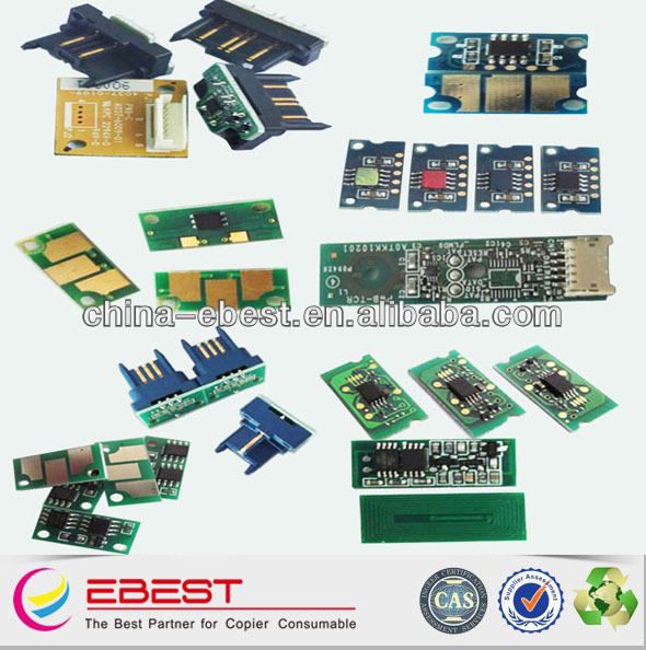 suitable for ricoh aficio SPC410 reset toner chips