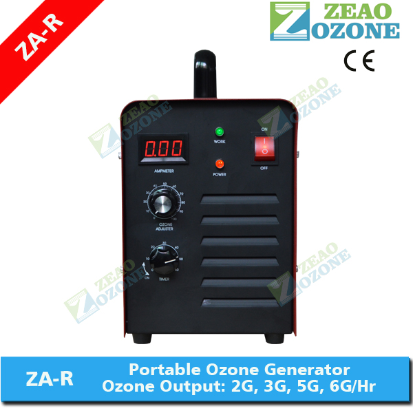Portable ozone generator for air purification use in house and hotel