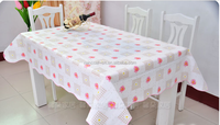 PEVA colourful decorative handicraft dining table cover