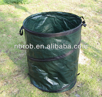 High quality PE Pop Up Reuseable Garden Container/Garden Bag