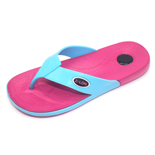 2015 high quality beach walk New Style female sexy and fashion platform wedge EVA flip flops slippers