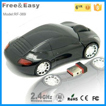 cool car shape wireless usb mouse
