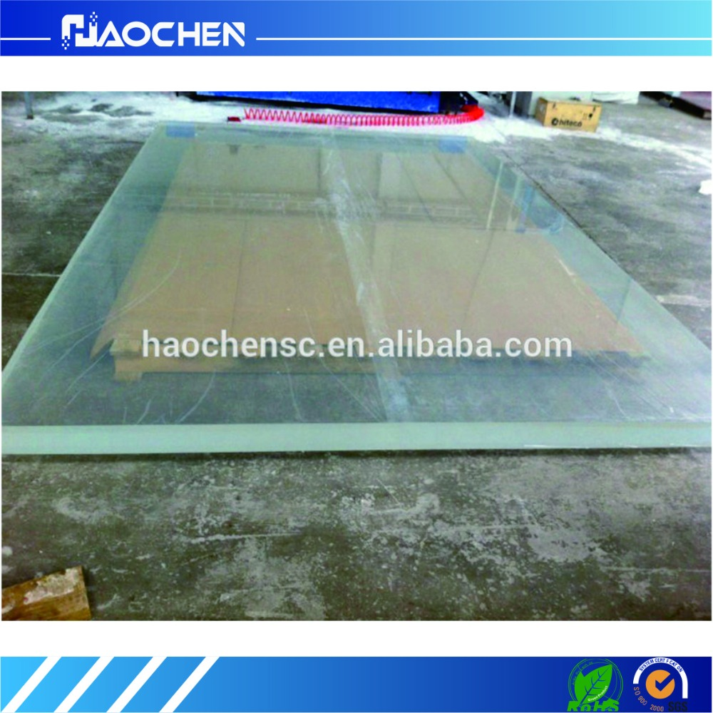 Custom clear thick acrylic sheet for acrylic swimming pool