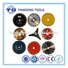 TG Tools cheap price custom stable brazed turbo diamond saw blade manufacturer