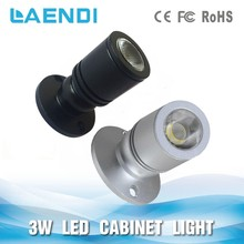 Widely used cri90 cabinet led mini spot light 3w for show lighting