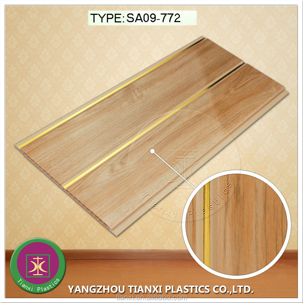 cheap building materials lightweight plastic laminate pvc ceiling panel