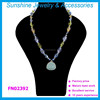 2015 Hot Sale fashion cystal chain necklace women jewel Pendant Necklace