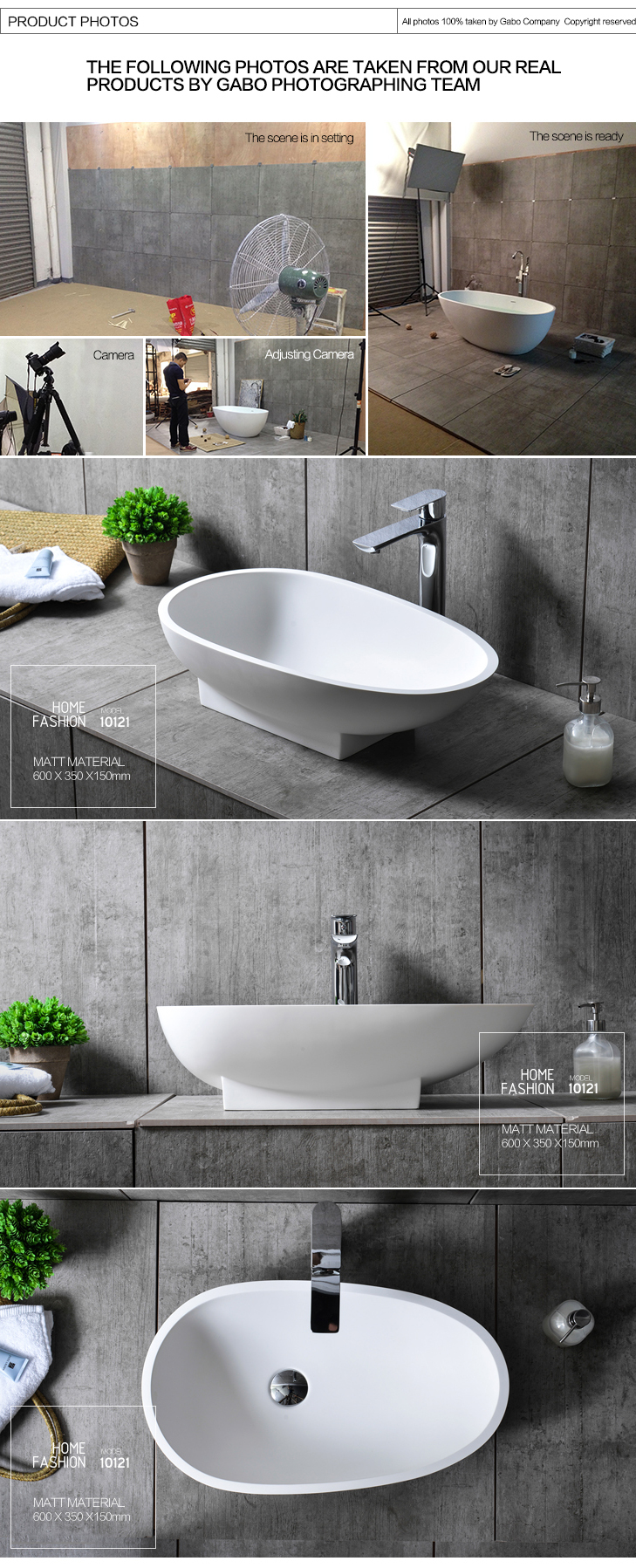 High Quality Bathroom Countertop Stone Sinks