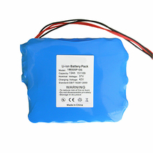 rechargeable Li-ion battery Pack 37V 13Ah 10S5P 18650