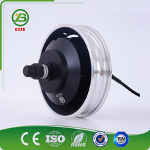 CZJB 10 Inch Gear Electric Wheel Hub DC Motor For Scooter
