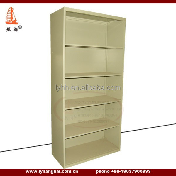 Hopsital Muniment Room 5 Tier Bookcase Made in China Cell Phone Store Metal Decorative Display Bookcase