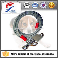 Outdoor product dog tie out leash dog rope