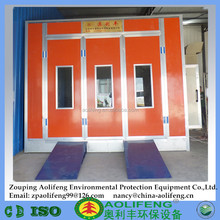 Excellent Powder Coating Commercial Spray Booths with Riello Burner