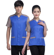 good quality big discount factory wholesale fashionable modern hotel waitress uniforms for sale