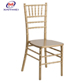 Wholesale restaurant chairs banquet wood chiavari chair with cushion