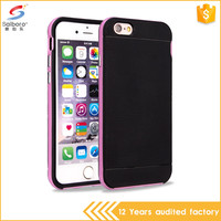 Fast Delivery Newest Design Ultra Slim TPU PC Phone Cases For Iphone 6