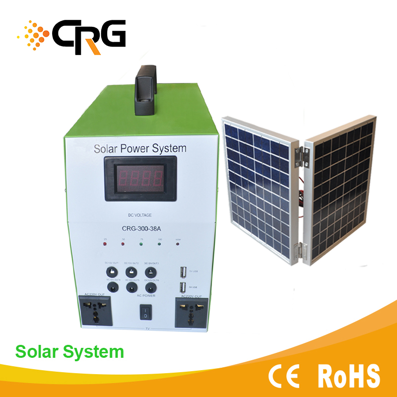 Off-grid 100W to 5000w home solar energy system AC/DC solar panel inverter with controller