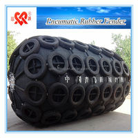 Used To Protect boat Inflatable Floating Rubber fenders
