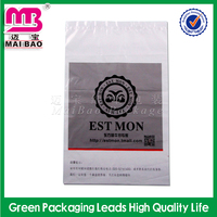 Custom delivery bag envelope type strong self adhesive poly courier bags