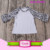 Wholesale Baby Girls Ruffle Icing Raglan Clothing Shirts Children American Wear Toddler Icing Jersey Raglan