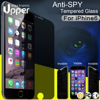 Reusable 0.33mm tempered glass supershieldz anti-peep anti blue ray film remove air bubbles screen protector for iphone5