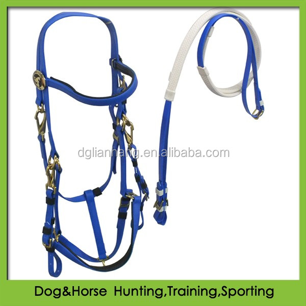 wholesale saddles and tack endurance bridle halter rein attached in PVC