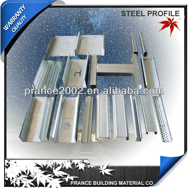 Metal Ceiling Joists For Plasterboard Drywall GI System