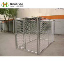 Classic lucky dog kennel with chain link wire mesh