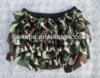2012 Hot Sale!! Fashion/ Pretty/ Breathable/ Leopard Ruffled Satin Baby's Bloomers/ Diaper covers