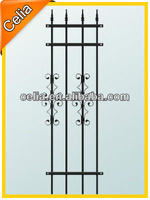 Modern metal durable gates for garden and home