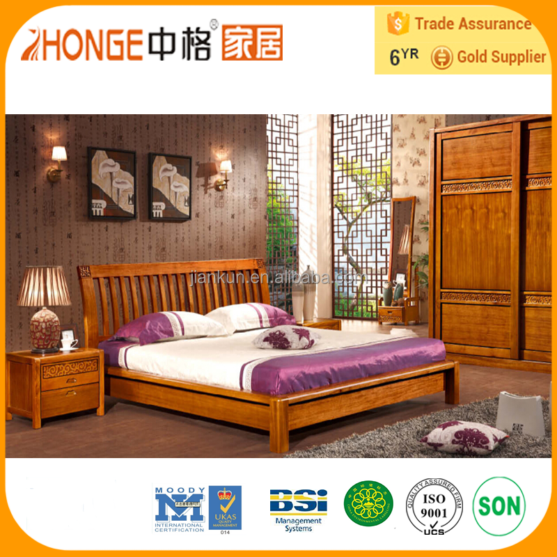 8A008 laminate wood carving fancy bedroom furniture