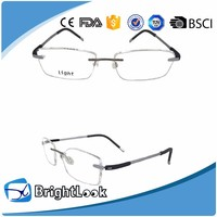 New Model Style Designer 100% Pure Titanium New Style Reading Glasses