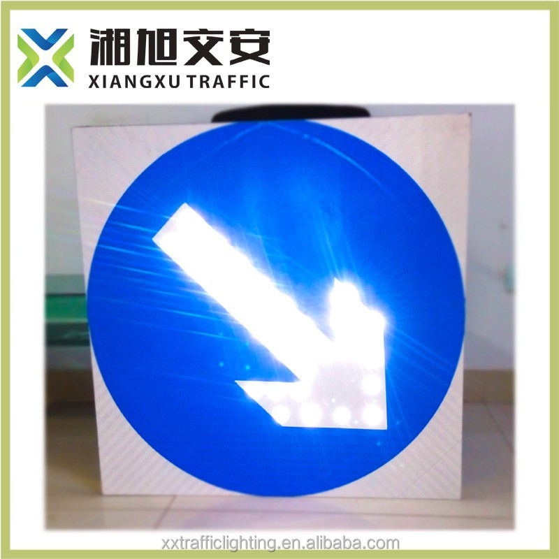 aluminium led pedestrian traffic signal/road sign led